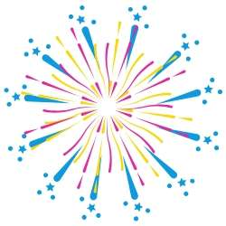 Fireworks icon next to success story testamonial