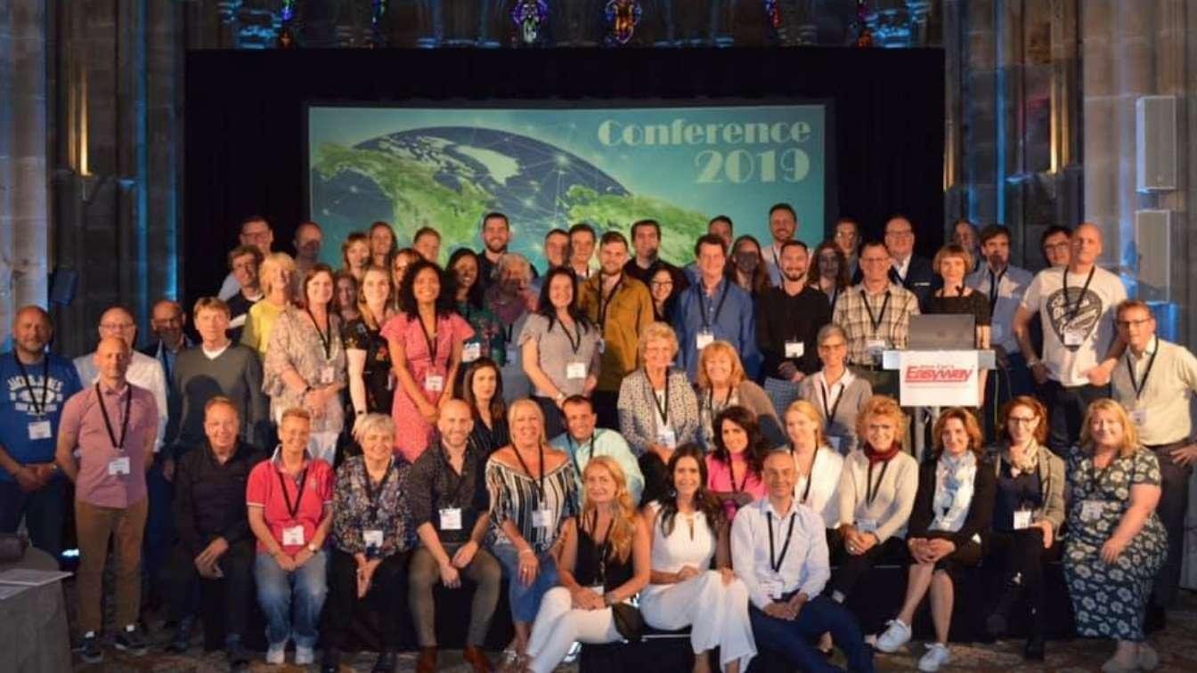 Allen Carr faciltator team at UK conference 2019